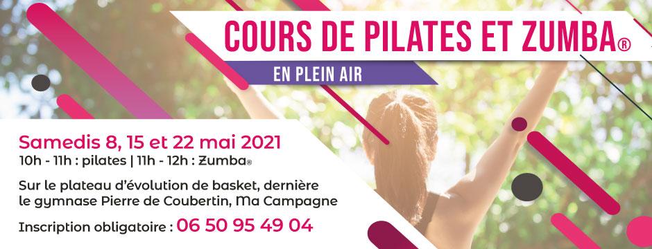 Cours de zumba et pilates à Angoulême